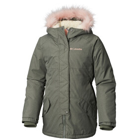 Columbia Carson Pass Mid Jacket Youths Cypress Heather/Chalk